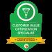 customer value optimization specialist badge from digital marketeer