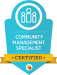 community management specialist badge from digital marketeer
