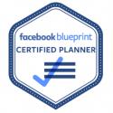 Facebook blueprint Certified Planner badge image