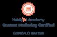 hubspot content marketing badge certification