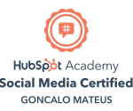 hubspot social media marketing badge certification
