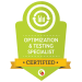 optimization and testing specialist badge from digital marketeer