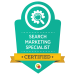 search marketing badge from digital marketeer