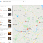 screenshot of Google Local Finder Desktop