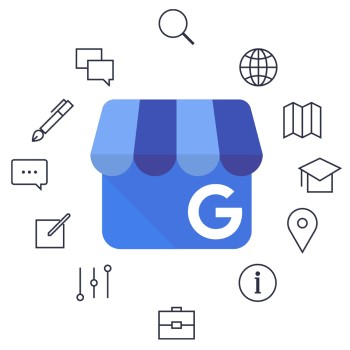 Google My Business Resources and Learning Center Logo