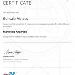 Image of Berkeley University Marketing Analytics Micromasters Certificate,